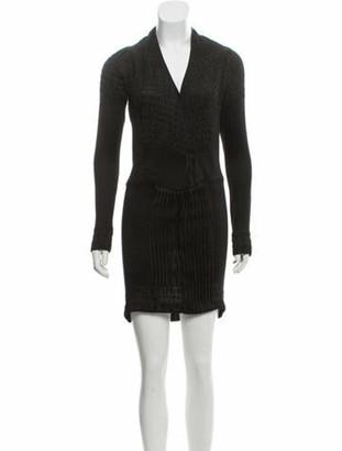 Zero Maria Cornejo Silk Mini Dress Black