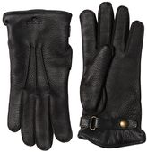 Belstaff Buckie Wool & Deer Leather Gloves