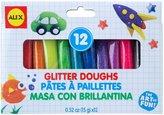 Alex 12 Glitter Doughs