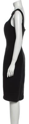 Thierry Mugler Vintage Knee-Length Dress Black