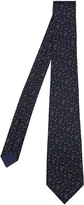 Bottega Veneta Flecked silk-blend tie