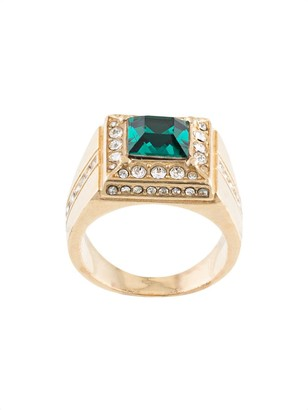 Dolce & Gabbana Crystal Set Square Ring