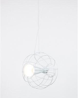 Innermost Latitude 1-Light Single Globe Pendant Color: White