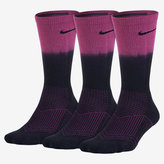Nike Cushion Fade Graphic Crew Socks (3 Pair)