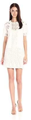 RD Style Women's Lace Crochet Short Sleeve Dress