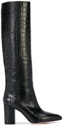 Paris Texas knee length boots