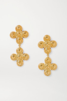 SOFT MOUNTAINS Gemini Gold-plated Earrings - one size