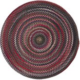 Colonial Mills CK77R120X120 Chestnut Knoll Space-Dye Braided Rug