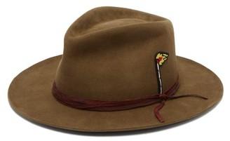 Nick Fouquet Monte Carlo Felt Fedora Hat - Mens - Brown