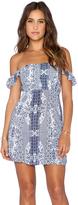 Flynn Skye Bardot Mini Dress