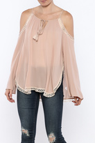 Bishop + Young Cold Shoulder Top