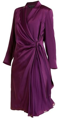 Marina Rinaldi, Plus Size Elegante Denise Frisottino Wrap Dress