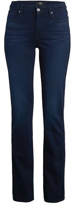 Kimmie Mid-Rise Straight Jeans