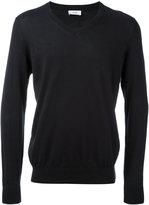 Closed V neck sweatshirt - men - Cotton - M
