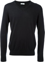 Closed V neck sweatshirt - men - Cotton - XL