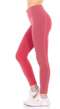 Therapy Exposed Zipper Color blocked Leggings