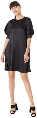 McQ Hisano Mini Dress (Black) Women's Clothing