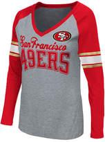 G-iii Sports Women's San Francisco 49ers In the Zone Long Sleeve T-Shirt