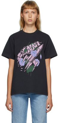 Ganni Black Rocket T-Shirt