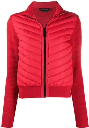 Canada Goose Panelled Padded Down Jacket
