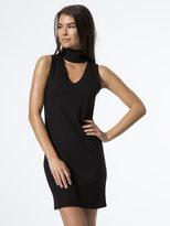 LnA Sleeveless Detached Turtleneck Dress