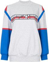 Moschino Transformers logo sweatshirt