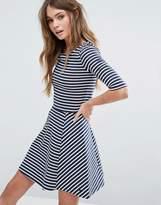 Jack Wills Stripe Skater Dress