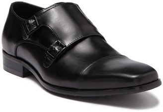 Kenneth Cole Cap Toe Monk Strap Loafer