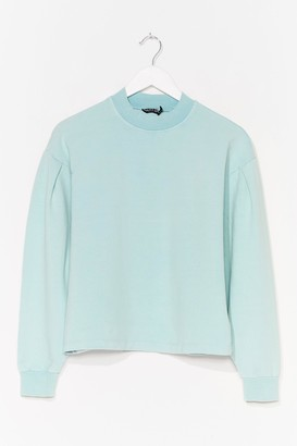 Nasty Gal Womens Pastel All High Neck Sweater - Mint