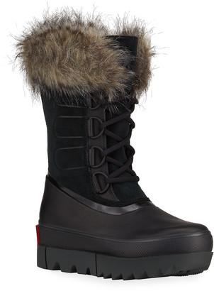 Sorel Joan of Arctic Next Waterproof Winter Boots w/ Faux-Fur Collar