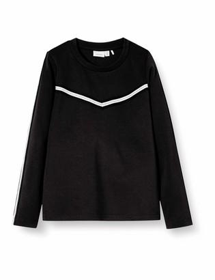 Name It Girls' Nkflornelia Ls Top Noos Longsleeve T-Shirt