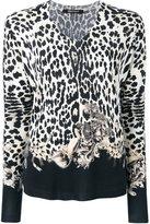 Roberto Cavalli V-neck blouse - women - Silk/Cashmere/Wool - 50