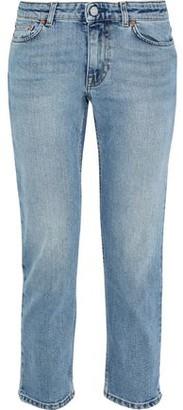 Acne Studios Faded Low-rise Slim-leg Jeans