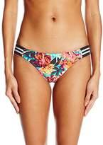 Body Glove Women's Wonderland Flirty Surf Rider Bikini Bottom