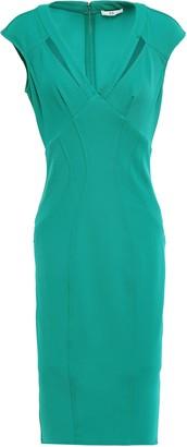 ZAC Zac Posen Joni Cutout Stretch-twill Dress