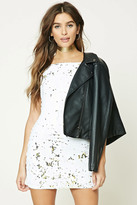 Forever 21 FOREVER 21+ Two-Tone Sequin Cami Dress