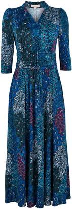 Wallis **Jolie Moi Blue Maxi Dress