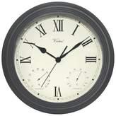 "Poolmaster 3-in-1 Clock - Black (12"")"