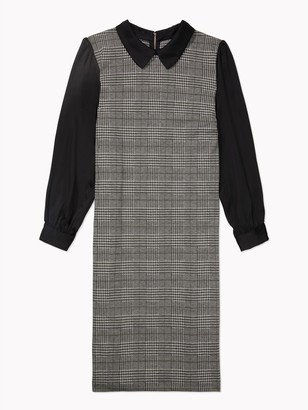 Tommy Hilfiger Essential Curve Plaid Twofer Dress