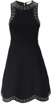 Sandro Mirror Detail Knitted Dress