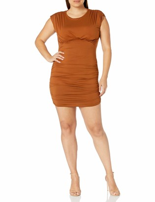 Forever 21 Women's Plus Size Shirred Bodycon Dress