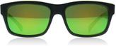 Bolle Jude Sunglasses Matt black- argyle green 11835 Polariserade