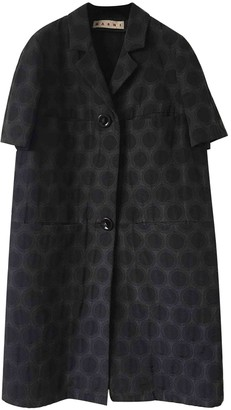 Marni Green Cotton Trench Coat for Women