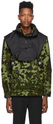 Nike Green and Black MMW Edition NRG FLC HD Jacket
