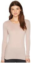 Hanro Cotton Seamless Long Sleeve Shirt Women's T Shirt