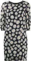 Moschino daisy-print shift dress