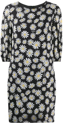 Boutique Moschino Daisy-Print Shift Dress