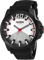 Redline Red Line Men's 'Black Zone' Quartz Stainless Steel Casual Watch (Model: RL-305-BB-02S-RDA)