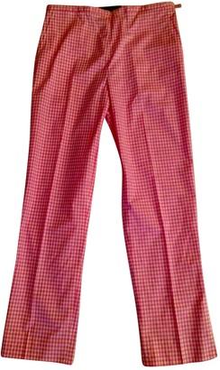 Ralph Lauren Pink Spandex Trousers for Women