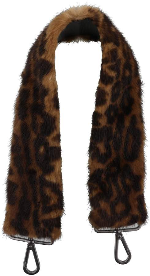 Max Mara Mink Fur Shoulder Strap